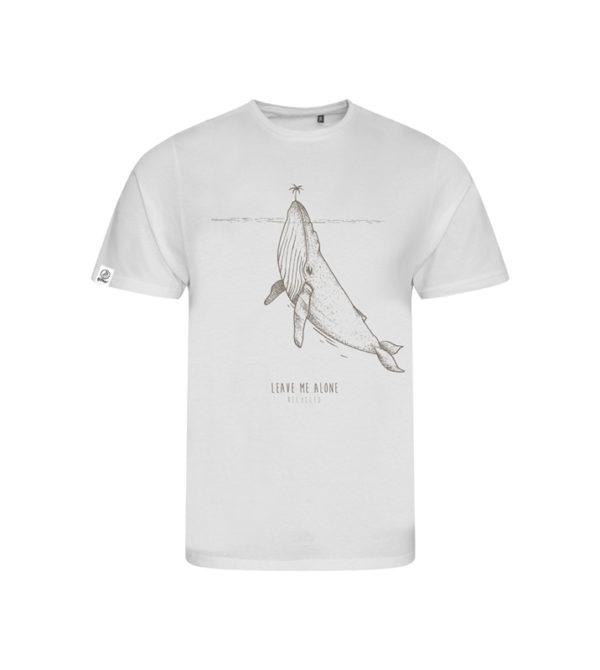 t-shirt leave - 50 Bar 50 Bar textiles Pet recyclé et Coton recyclé, t-shirt en matériaux recyclés, casquettes, porte-clés, etc.